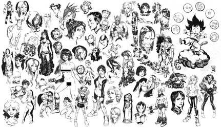 Sketchbook stuff 2 by Smolb