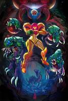 Metroid Menace by Smolb