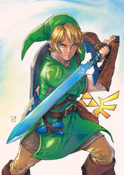 The Legend of Zelda by Smolb