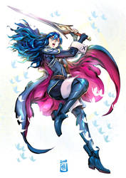 Lucina by Smolb