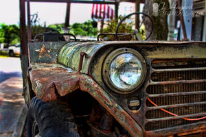 Old Jeep (Color) by jhagood23