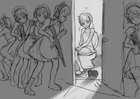 Toilet War by cypherone-tw