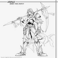 Dissidia: FF-Arvalis LINES by arvalis