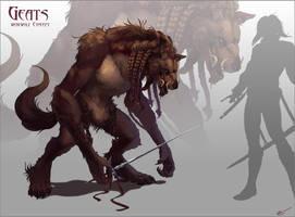 Geats-Werewolf Concept by arvalis