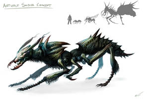Antwolf Soldier Concept by arvalis