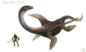Aquatic Dragon Concept by arvalis