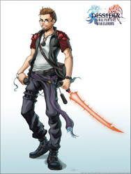 .:Dissidia-Ryan Clements:. by arvalis