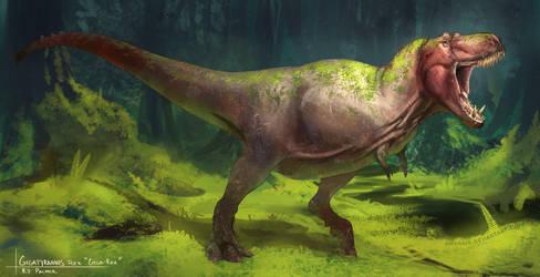 Gigatyrannus rex by arvalis