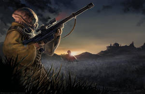 Star Wars-Gand Sniper by arvalis