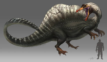 Chunky Spino by arvalis