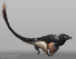 Saurian-Acheroraptor by arvalis