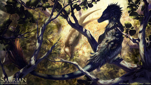 Saurian-The Observer by arvalis