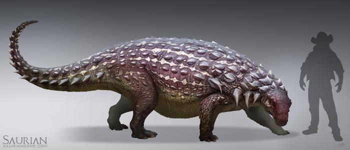 Saurian-Denversaurus by arvalis