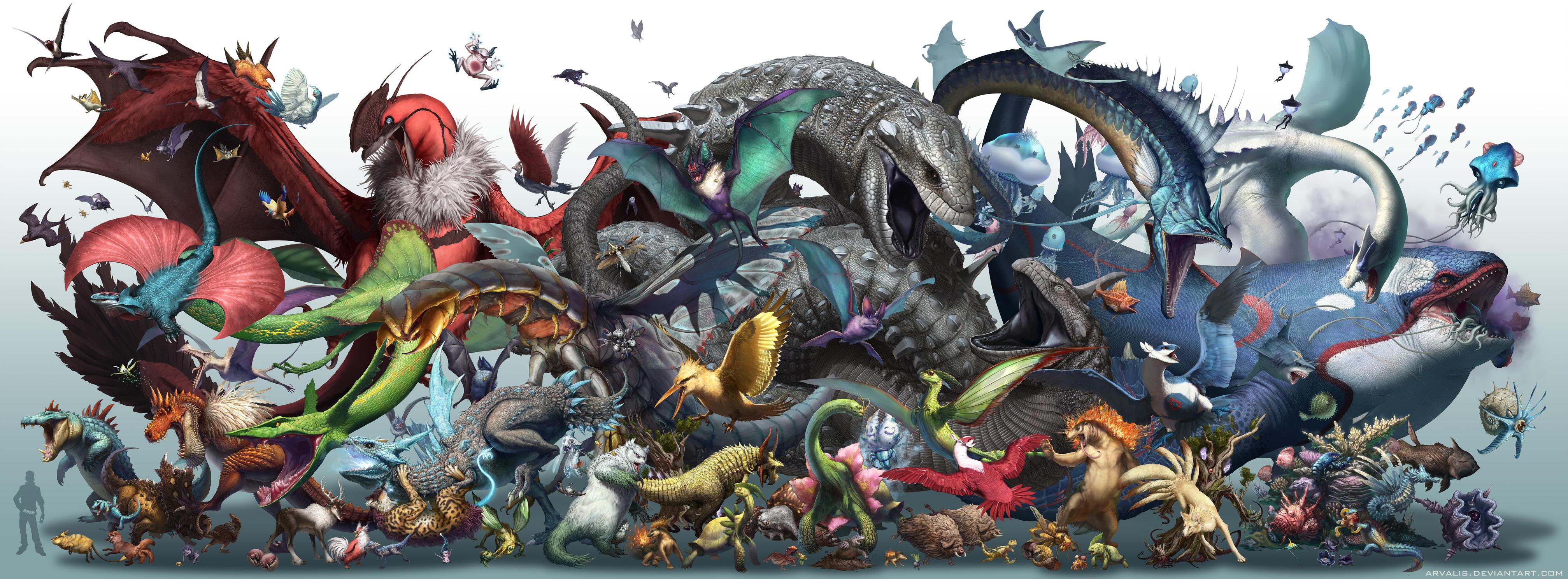 Realistic Pokemon-Season 2 by arvalis