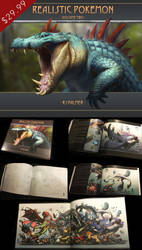 Realistic Pokemon-Volume Two Art Book by arvalis