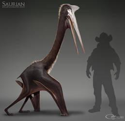 Saurian-Quetzalcoatlus Update by arvalis
