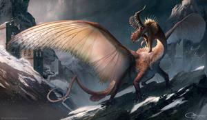 European Dragon by arvalis