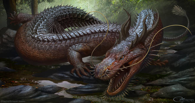 Chinese Dragon by arvalis