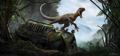 The Isle-Magnaraptor by arvalis