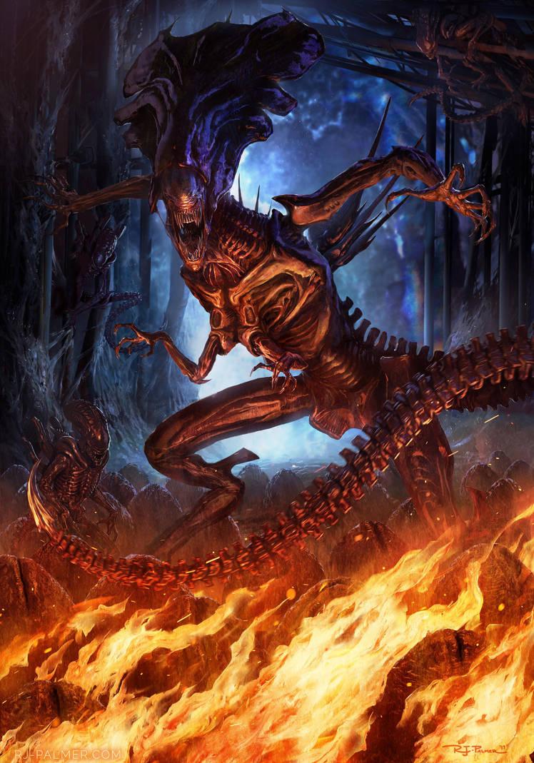 - Alien Queen - by arvalis