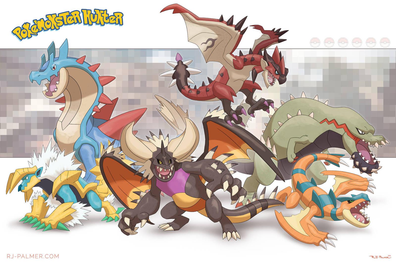 Poke'monster Hunter by arvalis