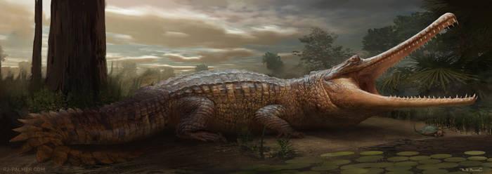 Saurian-Thoracosaurus by arvalis