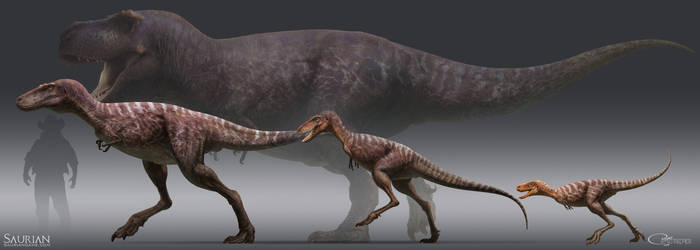 T. rex Youngsters by arvalis