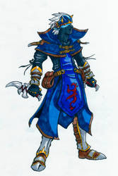 Arcus-Elven Ninja by arvalis