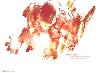 Ironman. by BlueroseProductions