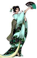 One Piece Nico Robin Wano by Soranomike