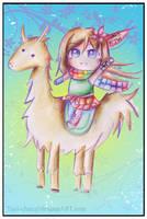 Llama Victor by Tajii-chan
