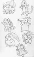 Pokemon by GreenDino