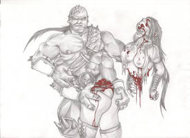 Goro's Fatality - Final by DANAGUSOU