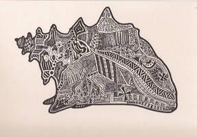 Magic Conch Shell by Imprensibilis