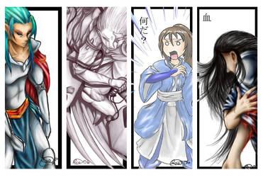 Bookmarks 2 by KuroTatsu-Hime