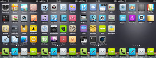 My iPhone apps by DDrDark