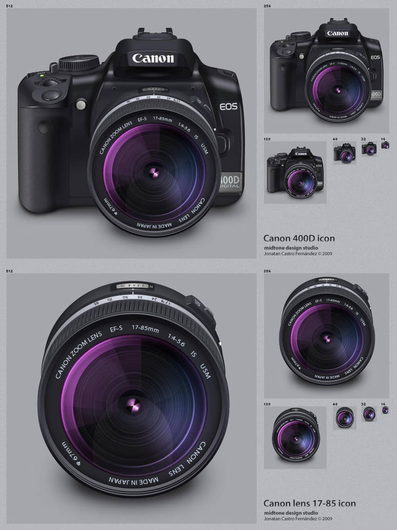 Canon 400D + lens 17-85mm by DDrDark