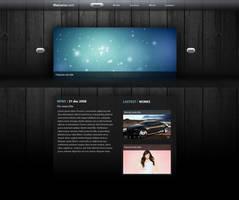 Web mockup - client work by DDrDark