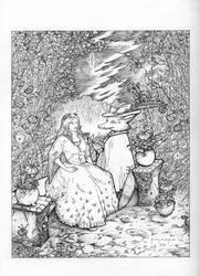 The Sorcerer Fox by Polasko