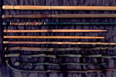 Ten Wands by DonSimpson