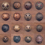 Sixteen Faces by DonSimpson