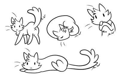 :Derp Cats Base:F2U: by h4lloween