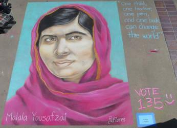 Malala Yousafzai by ShadowIncognito