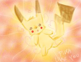 Pika-crayon by kitsu-chanS2