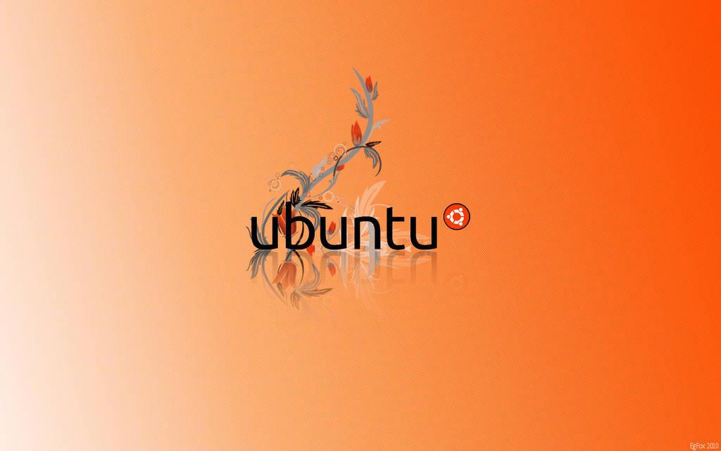 EgFox Ubuntu Orange HD 2010 by Eg-Art