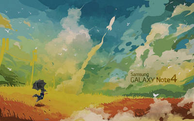 GALAXY NOTE 4 -EgFoxDesign-1920x1200 by Eg-Art