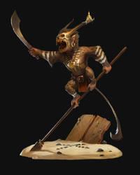 Treasure Guardian by kepperoni