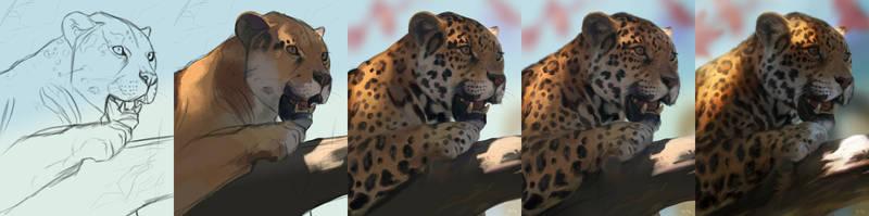 Jaguar Step Breakdown by kepperoni