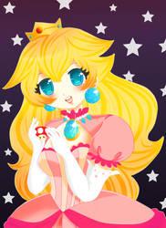 Princess Peach by rinadon