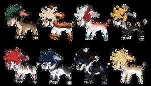 My Hero Academia / BNHA Dog Adopts (( CLOSED )) by ShadowPawWarrior